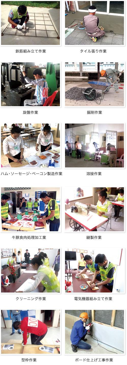カンボジア技能実習生の送り出し実績