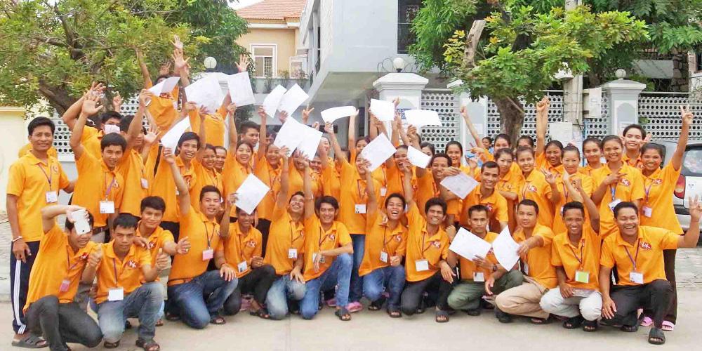 カンボジア外国人技能実習生が安全かつ幸せに感じられる実習を全力でサポート。