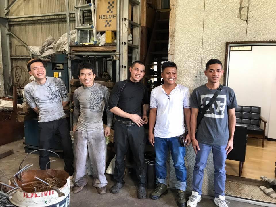鉄筋施工業で2名のカンボジア外国人技能実習生を配属しました!