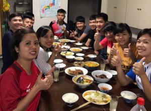 中部研修センターでいろいろな国の外国人技能実習生とともに勉強!