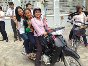 カンボジア外国人技能実習生はとても温厚で素直な人が多いです。