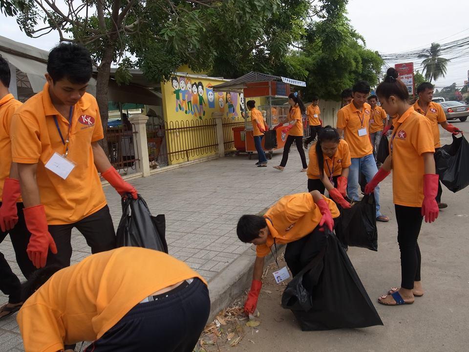 外国人技能実習生のゴミ拾いや環境整備の習慣作り