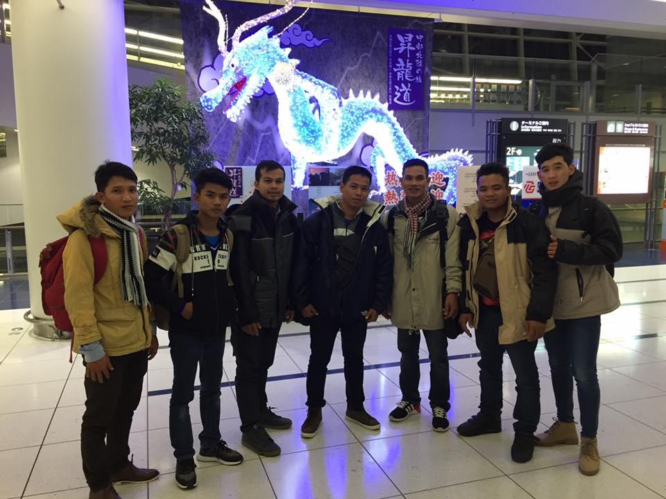 カンボジア外国人技能実習生、7名入国しました!