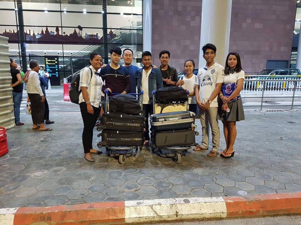 カンボジア外国人技能実習生、日本に向けて2名出発!