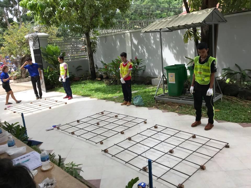 これから外国人技能実習生の鉄筋施工の2次面接です。